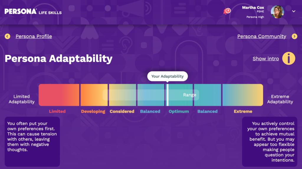 Persona Life Skills - Adaptability