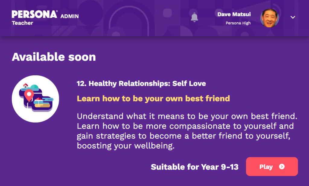 Self Love Island - available soon
