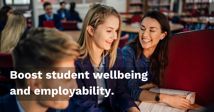Boost student wellbeing and employability - Persona Life Skills newsletter - Persona Education Newsletter