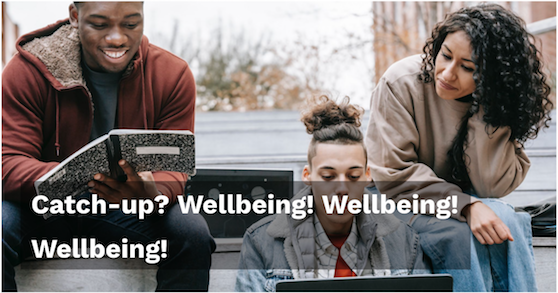Catch-up_ Wellbeing Wellbeing Wellbeing - Persona Education Newsletter April 2021