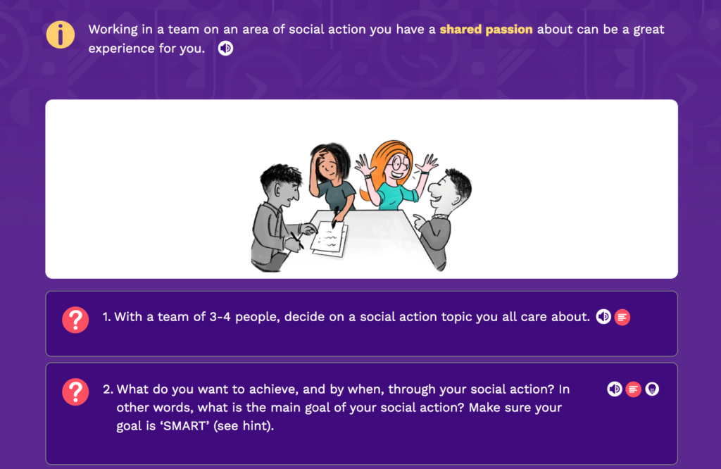 Persona Life Skills - Social Action Island, Explore 2