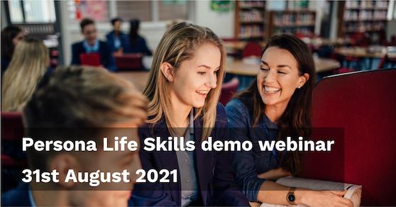 Demo webinar 31-Aug-21 - Persona Education Newsletter Aug 21