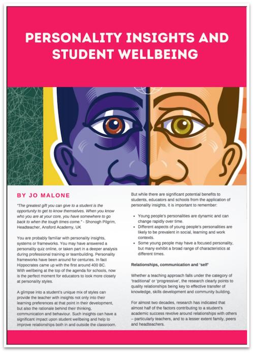 Wellbeing in International Schools
